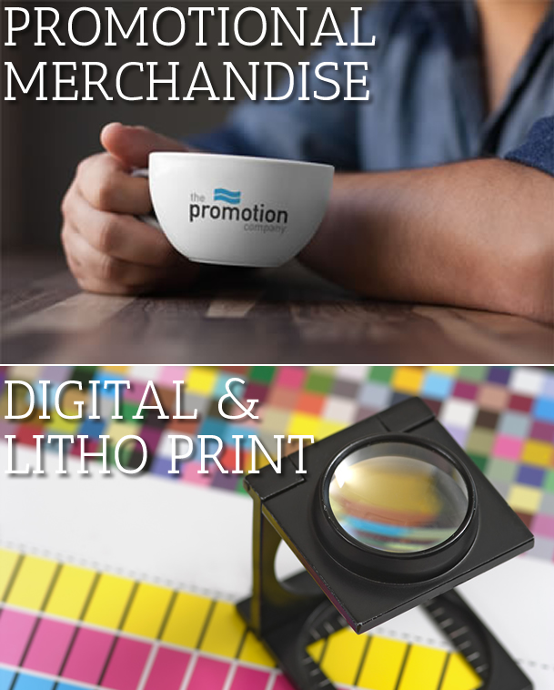 Digital and Litho Print and Promotional Merchandise
